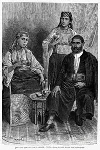 «Евреи и еврейкиТанжера». Фото D'Emile Bayard
