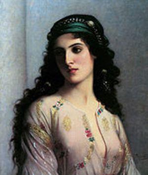 С картины Charles Landell. 1874г.