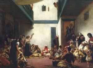 Еврейская свадьба в Марокко Eugène Delacroix. Лувр