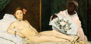 Олимпия, картина Мане