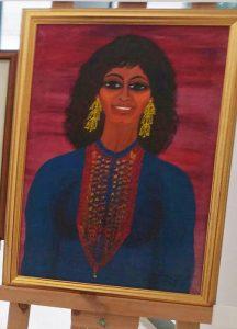 Шушана Дамари (1923―2006). Автопортрет