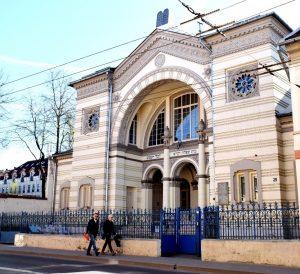 Хоральная синагога Вильнюса, апрель 2018 г. Фото Л. Смиловицкого