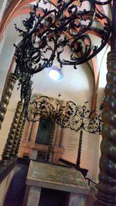 Бима в Староновой синагоге