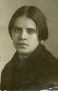 Луиза Гейслер-Шеллер. Москва, 1921 г.