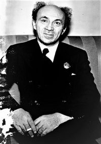 Соломон Михоэлс в 1943г. Фото из архива Леонарда Лермана