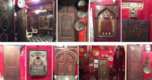Интерьеры в «Доме Маймонида», по-видимому, изготовленные местными художниками в подражание еврейским ритуальным объектам