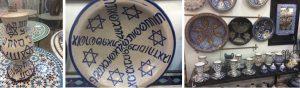 Современные поделки с «еврейскими» мотивами из гончарной мастерской