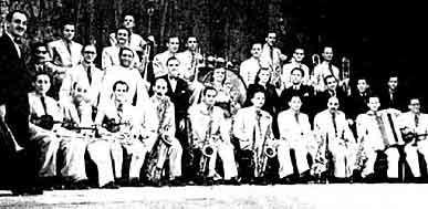 оркестр Э. Рознера — Один из первых составов оркестра Эдди Рознера