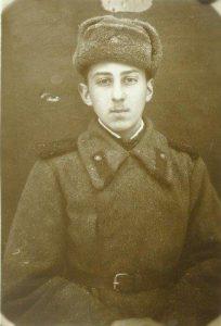 Лев Разумовский, февраль 1944, фронт