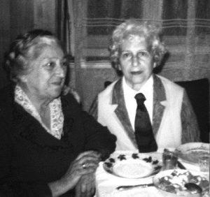 Таня и Рузя, встреча сестер в Ленинграде, 1962