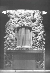 Ark-Reredos, Collection of the Rebecca Silling Chapel, Medical Center, University of WV 1957-58