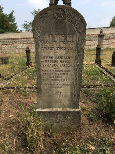 Италия, Салузо. Могила капитана Lelio Levi, Павшего на поле чести 22 февраля 1916