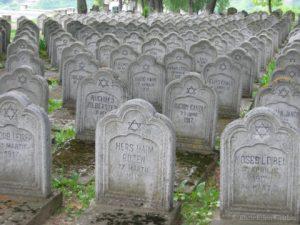 Румыния, Яссы. Еврейское кладбище Мемориал павших еврейских солдат в 1 МВ