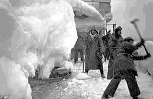 Типичный рабочий день английских моряков при зимней проводке конвоев в Мурманск