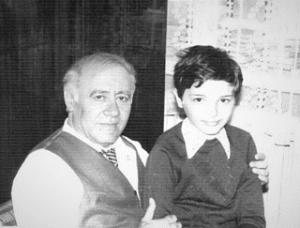 9. Михаил и Константин Бондарь. 1982г.