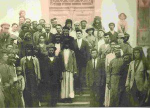 1921 г. Гости на свадьбе Купермана