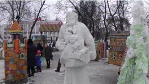 Скульптура «Ной и что было с ним в ковчеге» в центре гор. Муром Владимирской области, единственный в России памятник Ною. Автор мне неизвестен.