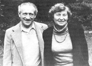 Сельма и Хаим в 1999 году