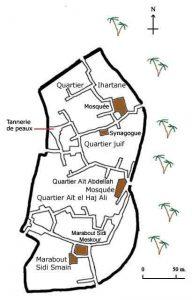 План старого города в Тингире
