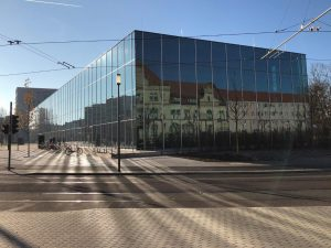 1. Новый музей Баухауса в Дессау
