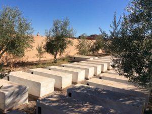 Кладбище в Уарзазате