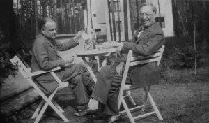 19. Клее и Кандинский в Дессау. 1927
