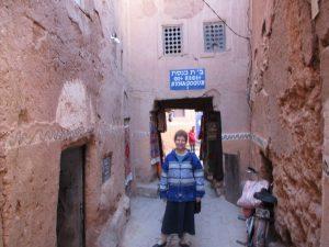 В бывшем еврейском квартале Уарзазата-2