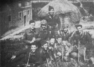 Первый батальон, отделение подрывников, Италия 1945г.*