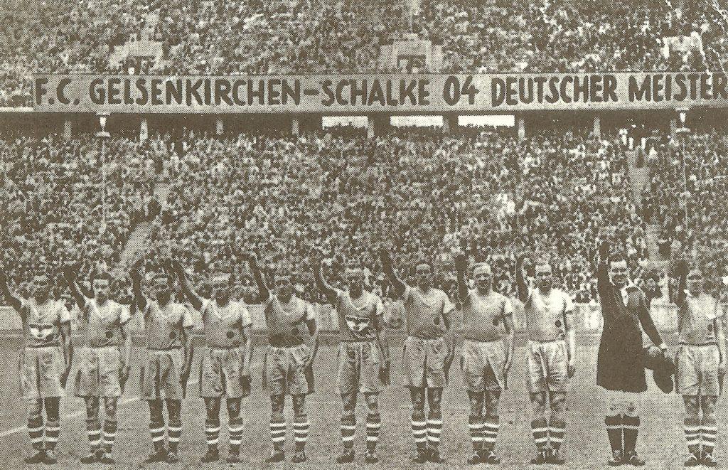"""""""Шальке 04"""" - чемпион Германии 1939 года"""