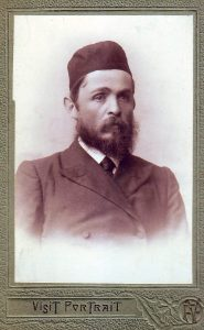 Хаим-Йехошуа Шифман в молодости