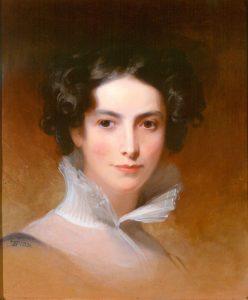 Philanthropist Rebecca Gratz. Rosenbach museum and library.
