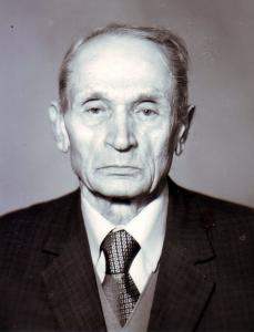 З.М. Лиснянский в возрасте 85 лет.