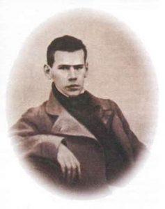 Л. Толстой в студенческие годы