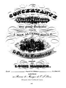 «Татарская песня» Маурера с посвящением А. Пушкину, 1826 г.