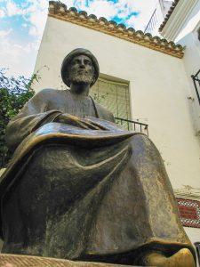 Рамбам (Маймонид). Скульптура в Кордове