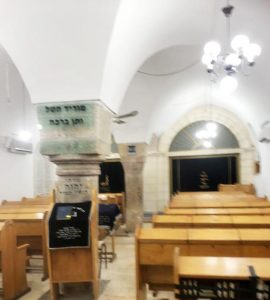 Синагога Рамбана, Иерусалим, Еврейский квартал