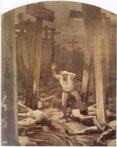 Самуил Гирценберг. «Блуждающий еврей». 1899