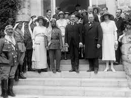 Черчилль и Самуэль в Иерусалиме