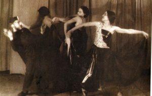 Вера Шабшай «Гетто в Испании» из балета «Алеф» , композитор Йоэль Энгель, театр «Фрайкунст» 1933