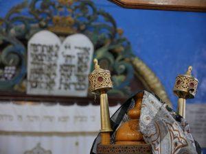 В синагоге Йосефа Каро