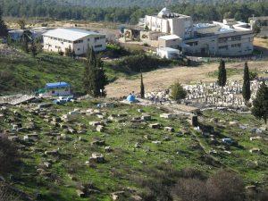 Старое кладбище в Цфате