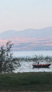 Лодка на Кинерете