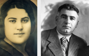 Фото 4 — Мои родители, отец Моисей и мама Рахиль
