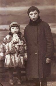 Рыбинск. 1934 г. Сестры Фаня и Фира Цлаф (фотография из семейного архива)