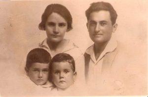 Семья. Тель-Авив, 1930.