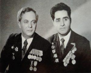 Мотя Тверский и Ион Деген, 1974г.