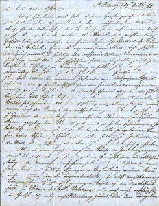 Первая стр. письма