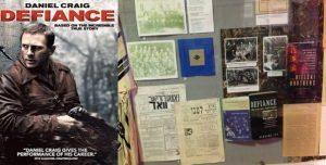 """постер фильма «Defiance"""", публикации в музее"""