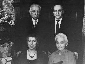 Александр Васильевич и Валентина Ивановна Смирновы Фотография, стоявшая на папином столе