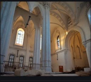 Гродно синагога внутри